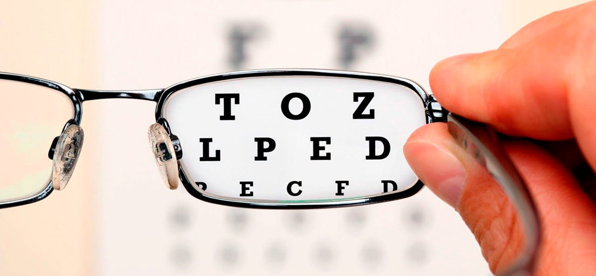 снижение остроты зрения при близорукости