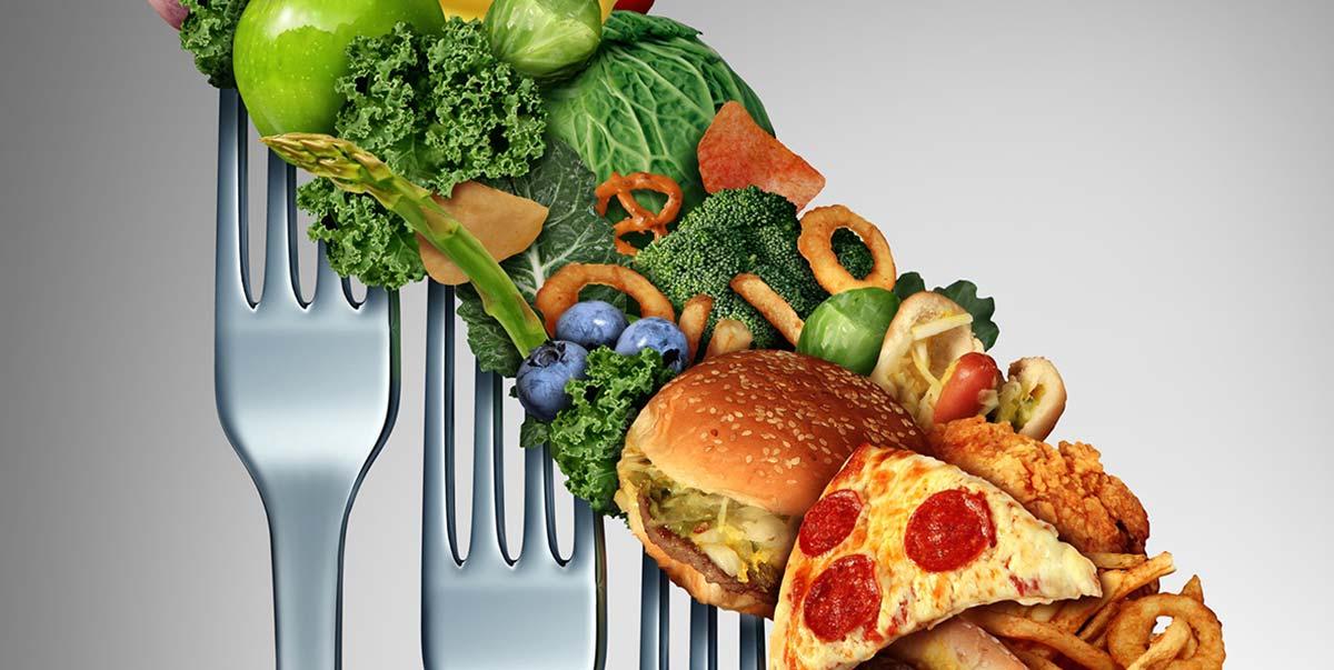 гесоблюдение питания при близорукости