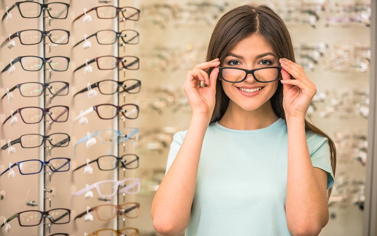Виды форм очков для зрения