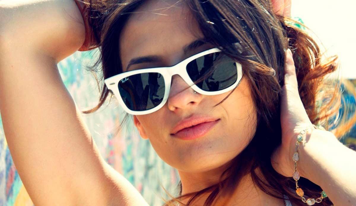 солнечные очки по типу лица