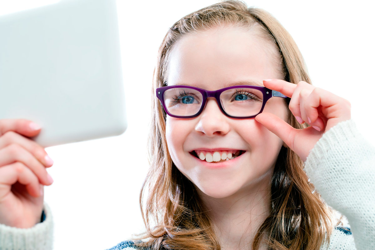 Применение корригирующих очков используется зачастую у школьников
