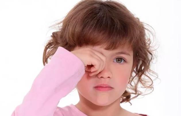 Конъюнктивит ребенок 4 года