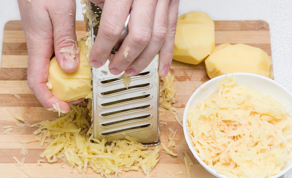 Делать картофельные примочки можно не более 3 раз в день