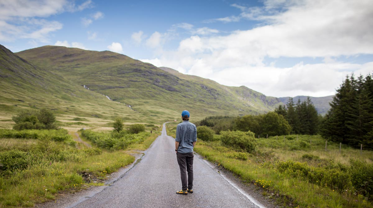 полезно больше бывать на природе и смотреть вдаль