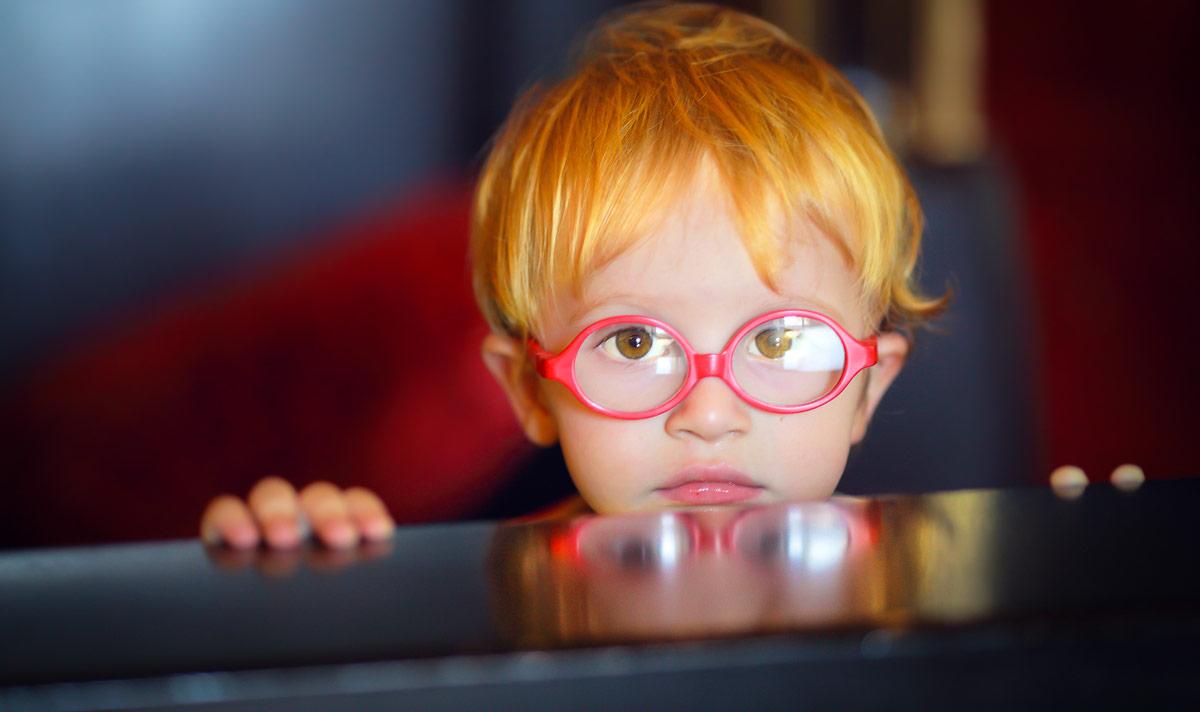 Зрение ребенка с годами улучшается к 7 годам