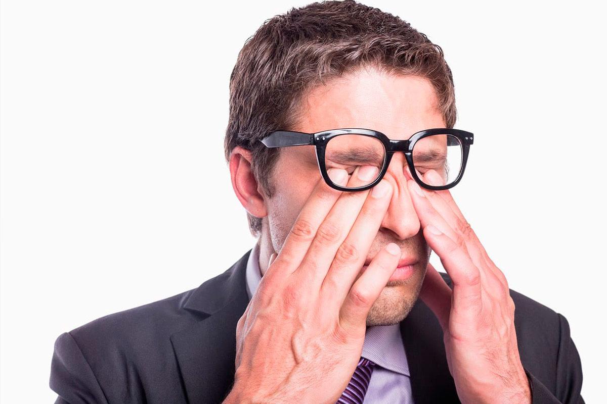 выраженная астенопия при ношении очков