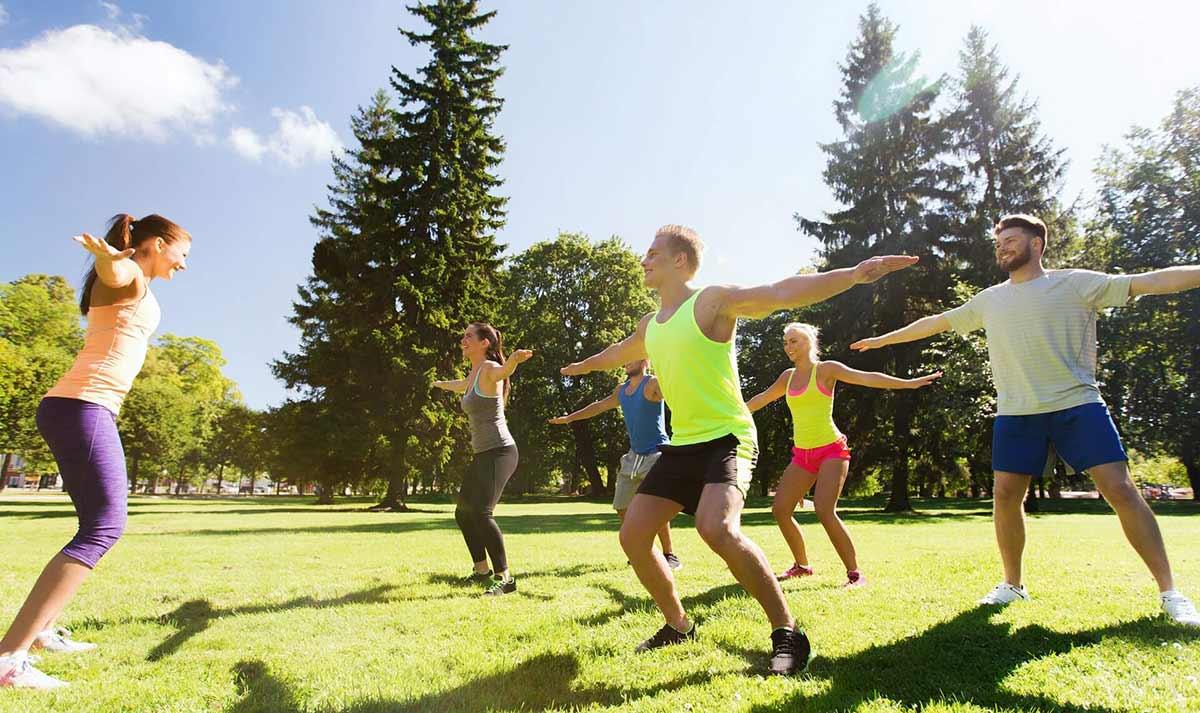 Пробежки и физкультура на свежем воздухе принесут только пользу
