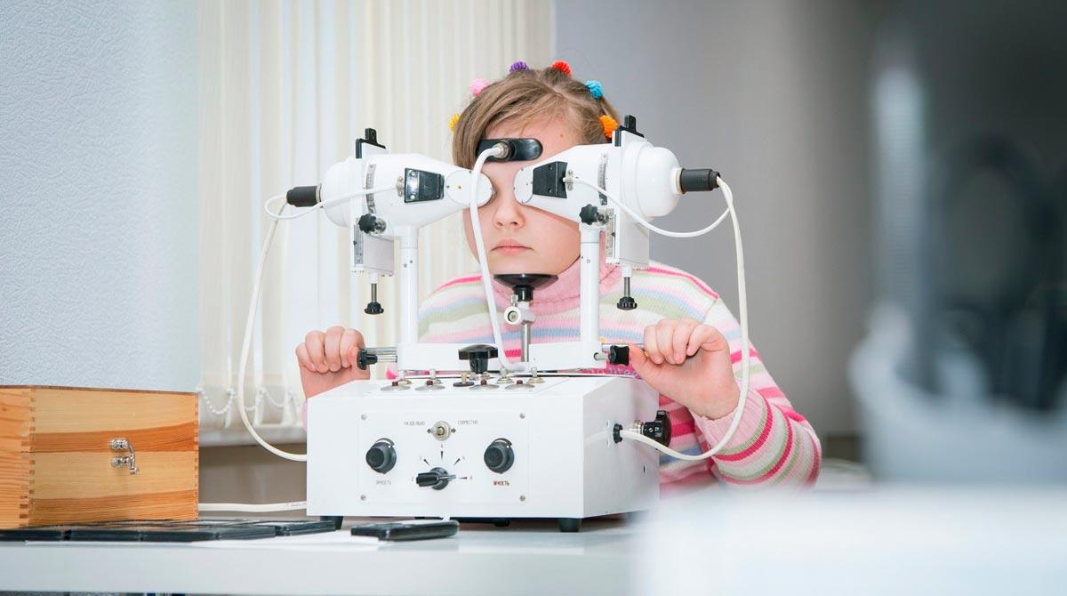лечение с помощью зрительной терапии