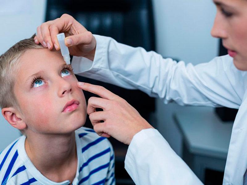 Детские капли для глаз