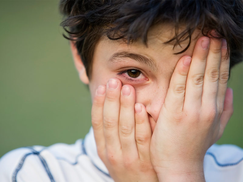 Причины конъюнктивита у детей