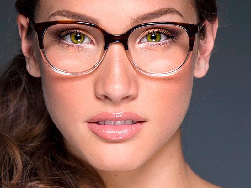 Очки для вытянутого лица женские