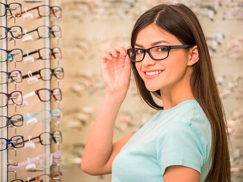 Очки с цилиндрическими линзами