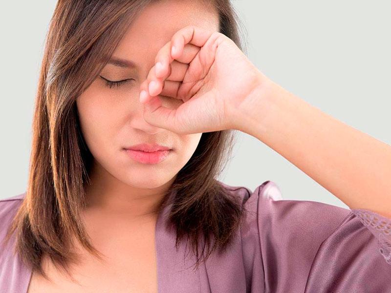 Отек нижнего века: причины, симптомы и способы лечения