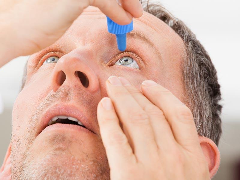 Как лечить конъюнктивит у взрослых капли