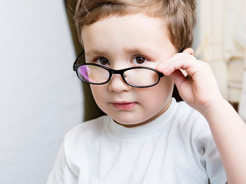 Очки для исправления косоглазия у детей
